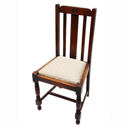 Original Antike Englische Esszimmerstühle Aus Mahagoni Eiche Oder