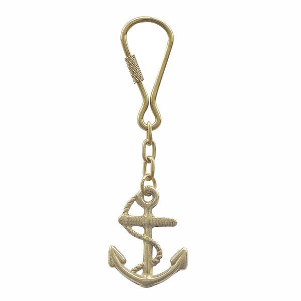 Schlüsselanhänger - Anker mit Seil