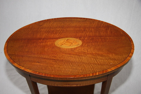 Siderable oval Edwardian