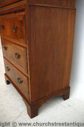 Antike Edwardian Kommode Schubladenkommode Holzkommode aus Massivholz mit Messinggriffen