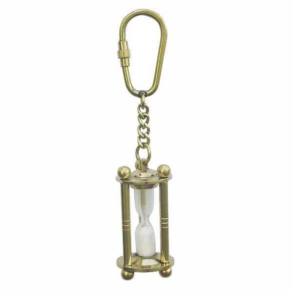 Schlüsselanhänger - Sanduhr, 3-säulig