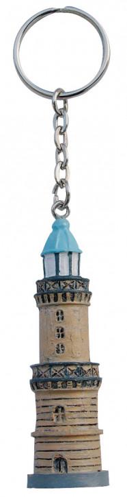 Schlüsselanhänger - Leuchtturm Warnemünde