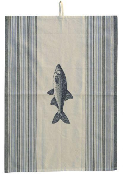 Geschirrtuch - Fisch, Baumwolle, 50x70cm
