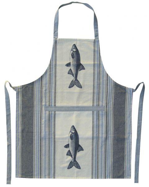 Schürze - Fisch, Baumwolle, 70x85cm