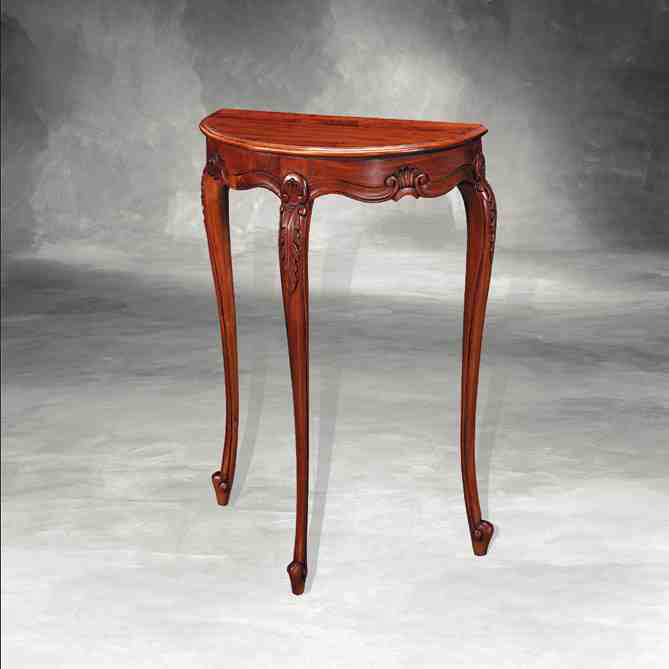 """Table 1/2 Round Louis XV"" - Kleiner Tisch"