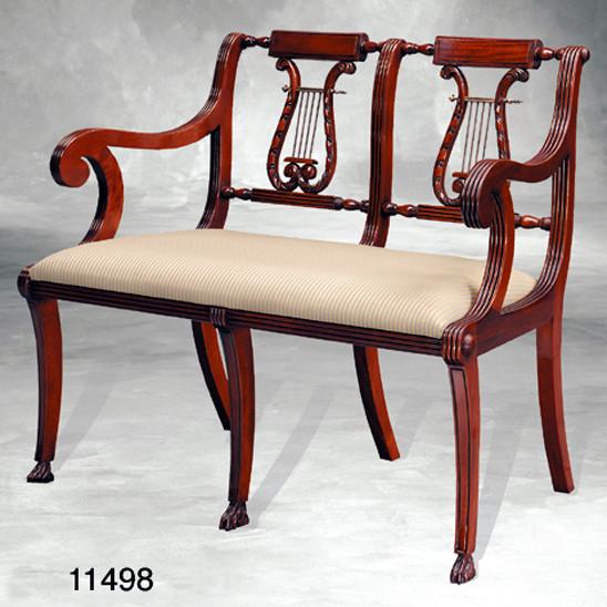Sofa, Lyre, 2 Seat