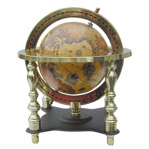 Globus, 4-säulig 18cm