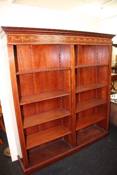 Double Open Bookcase auch in  Eibe