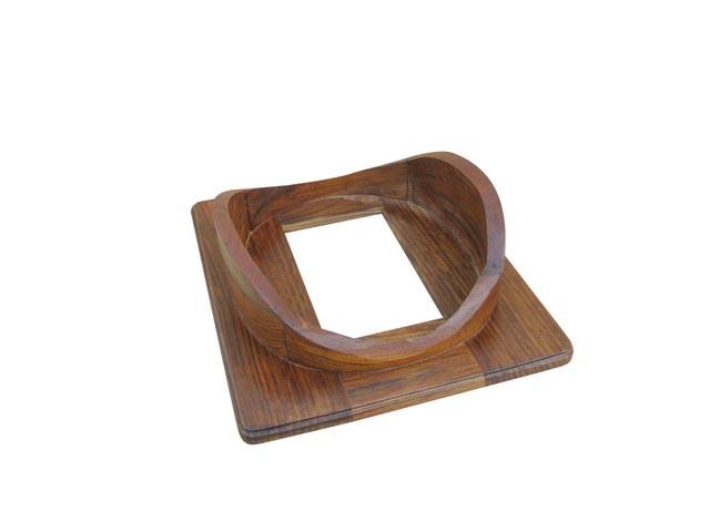 Holzsockel für Taucherhelm 1170, 48x43x13cm
