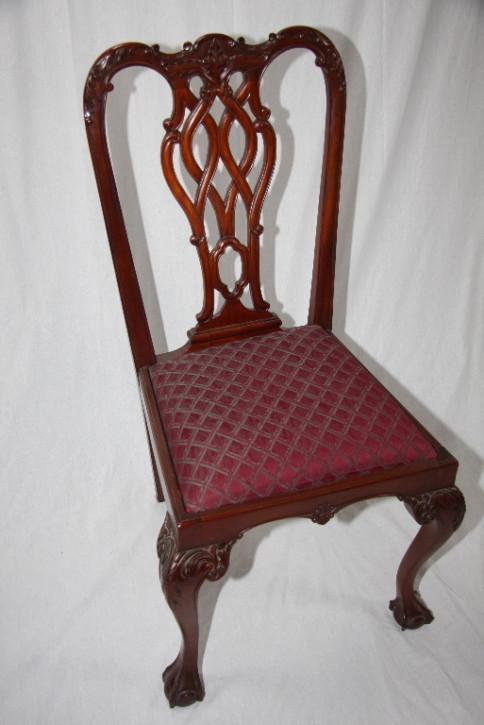 6er Satz Stühle - Mahagoni