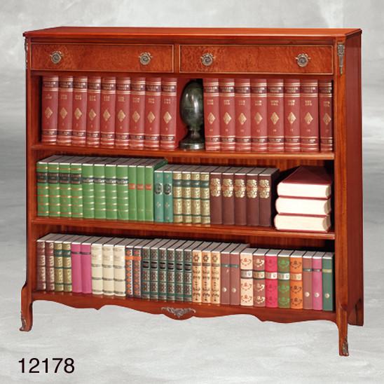 Bücherschrank Mahagoni