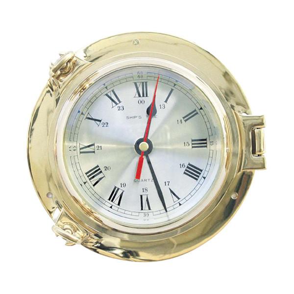 Uhr im Bullauge Ø: 14cm