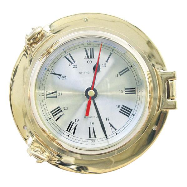 Uhr im Bullauge Ø: 18cm