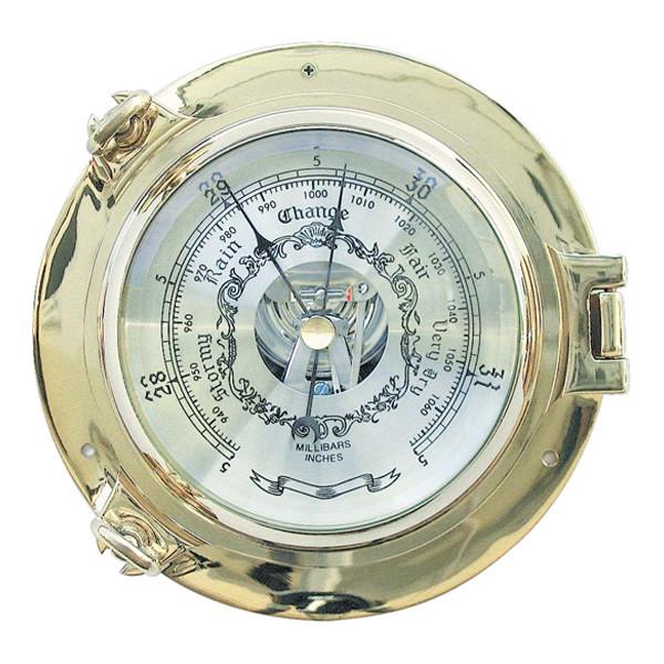 Barometer im Bullauge Ø: 18cm