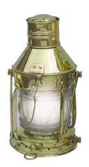 Ankerlampe, Messing, elektrisch 32cm x Ø15cm