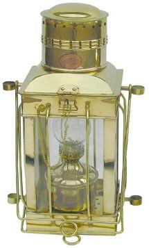 Cargo-Lampe, Petroleumbrenner, H: 38cm