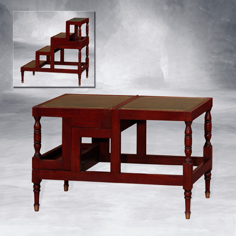 2 Stufen Tisch Liberay steps Buchleiter