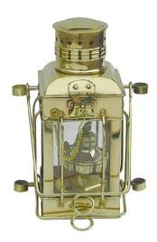 Cargo-Lampe, Petroleumbrenner, H: 25cm