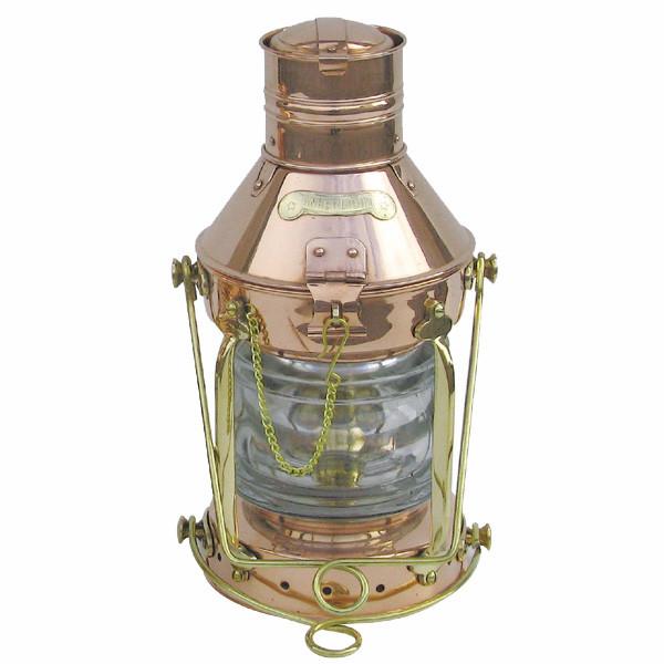 Ankerlampe, Petroleumbrenner, H: 32cm, Ø: 15cm