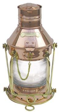Ankerlampe, elektrisch H: 32cm, Ø: 15cm