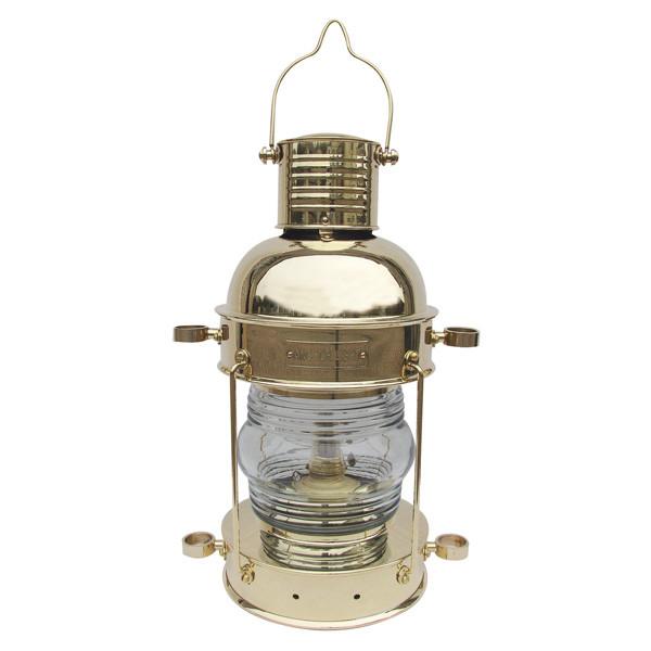 Ankerlampe, Petroleumbrenner, H: 32cm, Ø: 15,5cm
