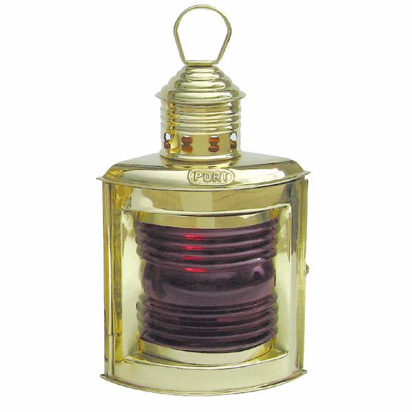 Backbordlampe, Petroleumbrenner, H: 23cm