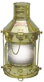 Ankerlampe, elektrisch H: 39cm, Ø: 20cm
