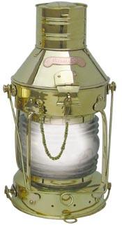 Ankerlampe, elektrisch H: 48cm, Ø: 22,5cm