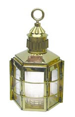 Clipper-Lampe,  elektrisch H: 57cm