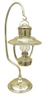 Lampe, Petroleum, H: 59cm, Ø: 18,5/21,5cm