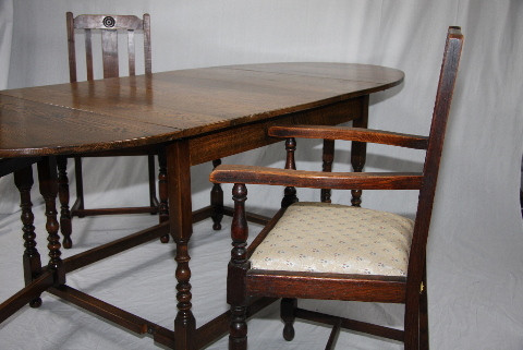 Esstisch - Country Dinning Table, ausklappbar