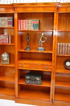 """""""Bücherschrank"""" in Eibe - auch Mahagoni erhältlich"""