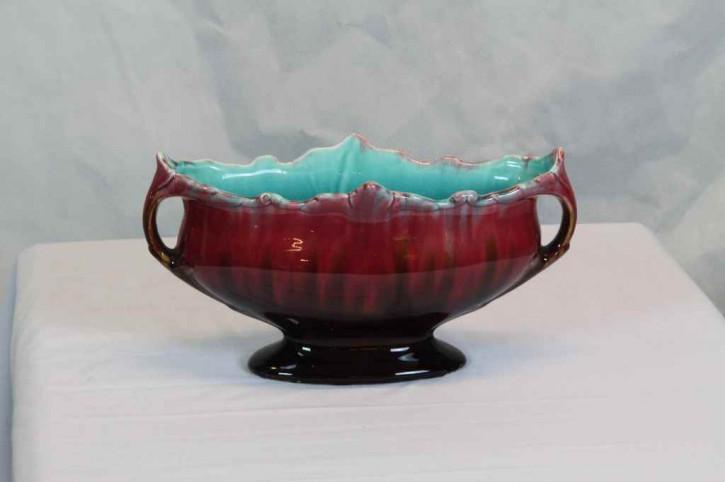 3er Set rote Vasen