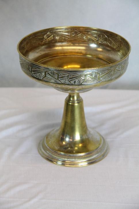 Goldene Tischschale