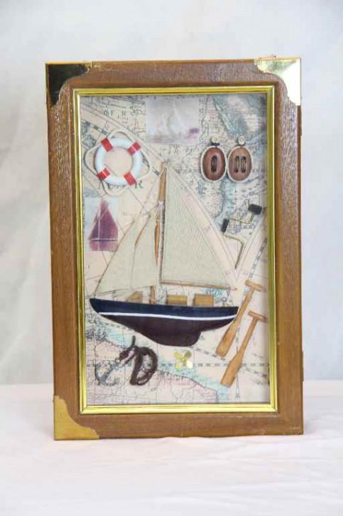 Schlüsselkasten Segelschiff