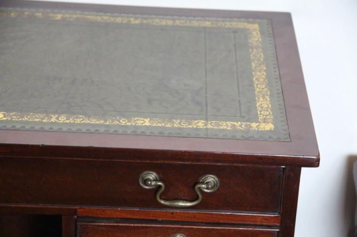 Wickham desk Schreibtisch Mahagoni Original 1890