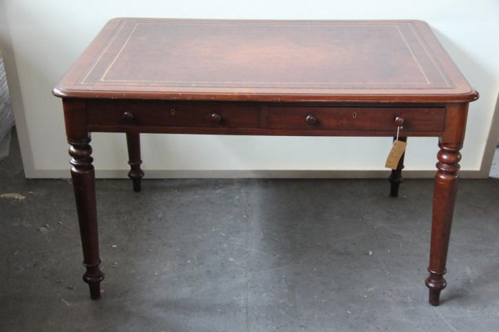 Schreibtisch Desktop Mahagoni Viktorianisch 1860