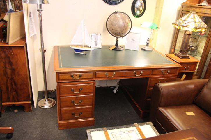 Schreibtisch Mahagoni Pedatal Desk massiv Mahagoni Original