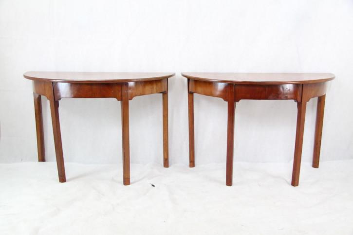 Esstisch Mahagoni Paar Demi Luntable Victorian 1860