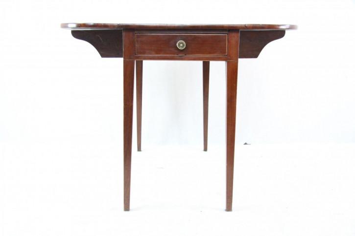 Pembroke Table Edwardian Original englische KlapptzischMahagoni