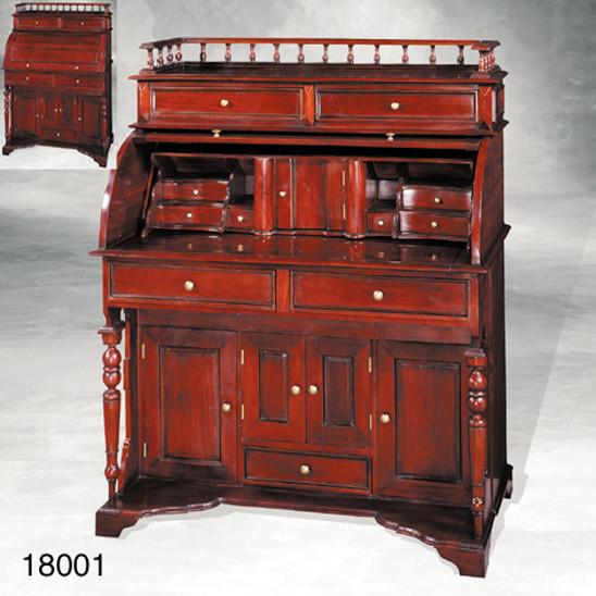 Schreibtisch Rolltop Desk two door