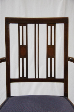 Küchenstuhl Esszimmerstuhl aus Holz Antiker Stuhl