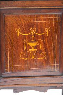 Rosewood Sideboard mit Intarsien