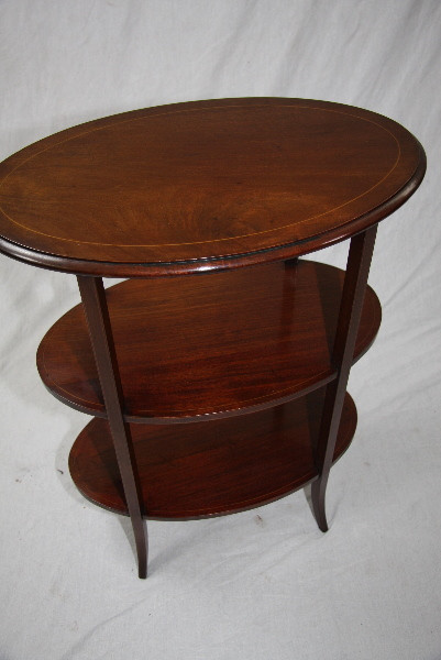 Oval ocations Table Edwardian