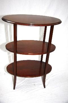 Oval ocations Table Edwardian