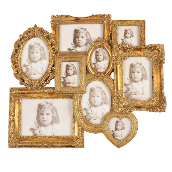Fotorahmen varia (9) Fotocollage  50*44 cm