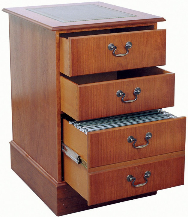 2 Top Drawers, 1 Filer Cabinet
