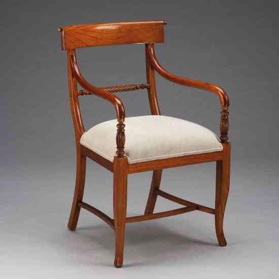 Twistback Armchair