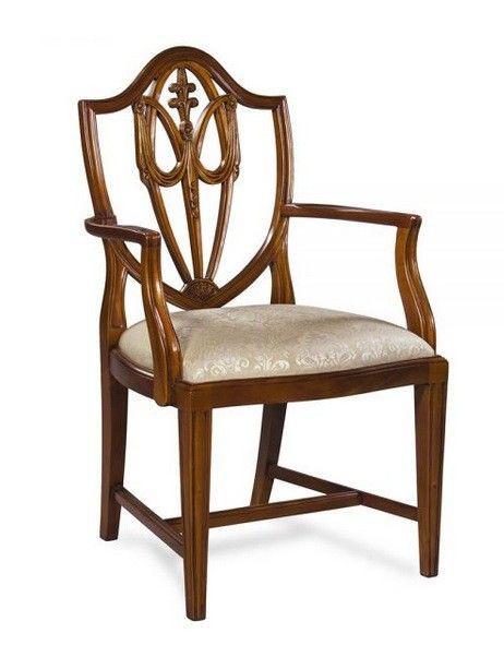 Chair, Carver, Shield Back B