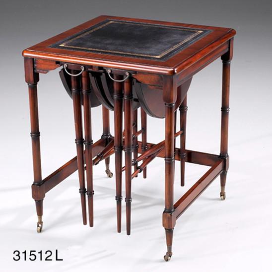 Kleiner Tisch - Table Nesting Leder